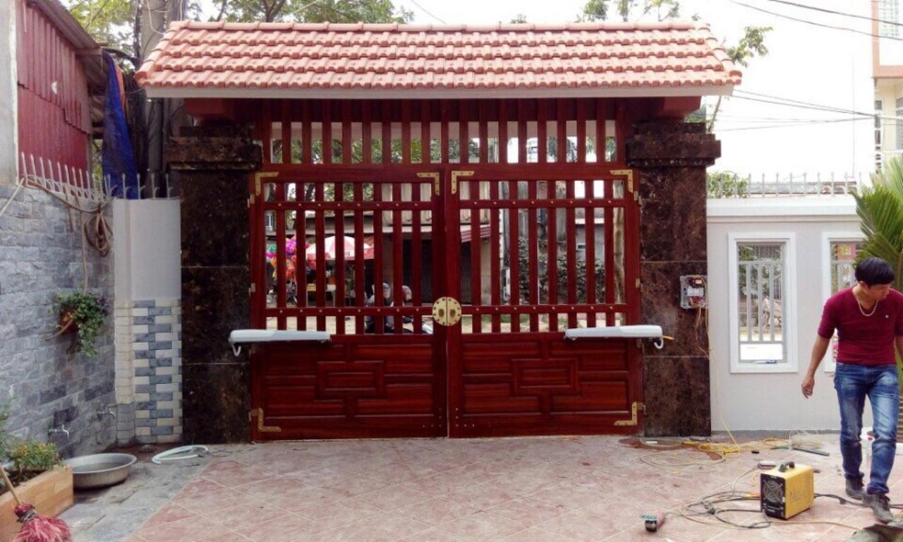 cổng tự động